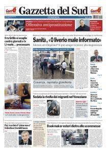 Gazzetta del Sud Cosenza - 4 Gennaio 2017
