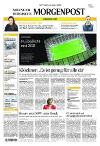 Solinger Morgenpost – 18. März 2020