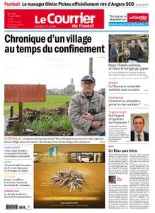 Le Courrier de l'Ouest Angers – 11 avril 2020