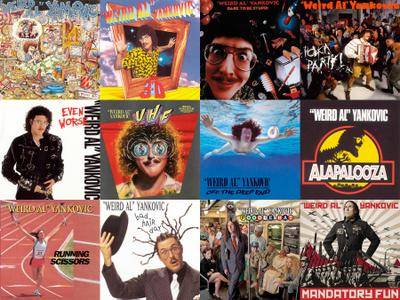 Weird Al Yankovic - The Hi-Res Album Collection (1983-2014/2017) [Official Digital Download]