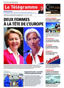 Le Télégramme Concarneau – 03 juillet 2019