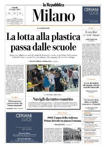 la Repubblica Milano - 29 Luglio 2019