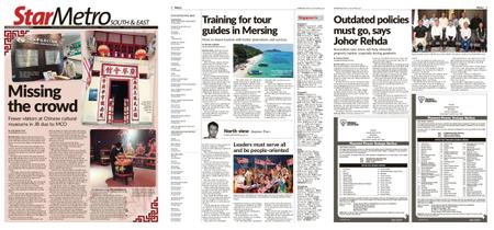 The Star Malaysia - Metro South & East – 18 September 2020