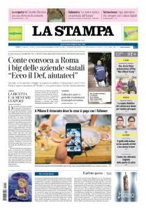 La Stampa Imperia e Sanremo - 10 Ottobre 2018