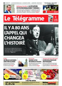 Le Télégramme Brest – 18 juin 2020