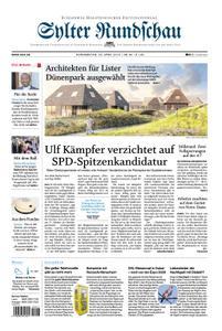 Sylter Rundschau - 25. April 2019