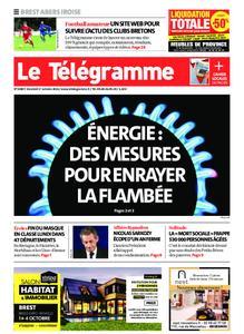 Le Télégramme Brest Abers Iroise – 01 octobre 2021