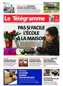 Le Télégramme Brest Abers Iroise – 20 mars 2020
