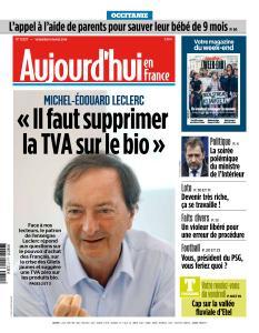 Aujourd'hui en France du Vendredi 15 Mars 2019