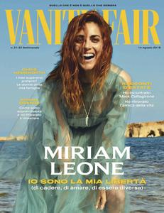Vanity Fair Italia – 14 agosto 2019