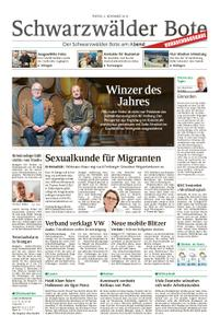 Schwarzwälder Bote Blumberg - 02. November 2018
