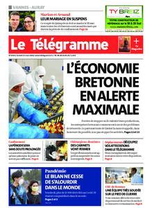 Le Télégramme Auray – 21 mars 2020