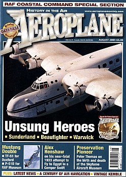 Aeroplane Monthly - August 2003