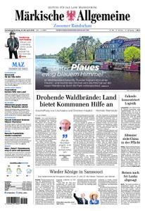 Märkische Allgemeine Zossener Rundschau - 27. April 2019