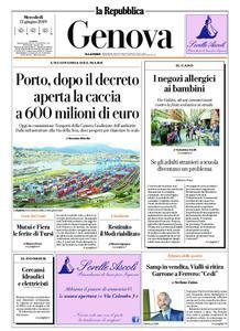 la Repubblica Genova – 12 giugno 2019