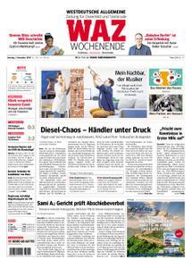 WAZ Westdeutsche Allgemeine Zeitung Oberhausen-Sterkrade - 03. November 2018