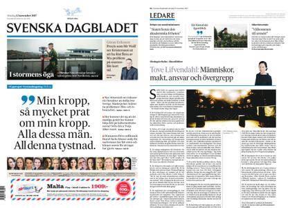 Svenska Dagbladet – 12 november 2017