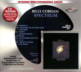Billy Cobham - Spectrum (1973) [Audio Fidelity, Remastered 2016] Audio CD Layer