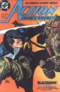 Blackhawk 1988-10 Action Weekly 615-622