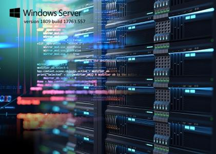 Windows Server version 1809 build 17763.557