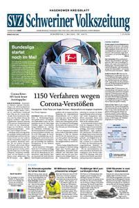 Schweriner Volkszeitung Hagenower Kreisblatt - 07. Mai 2020