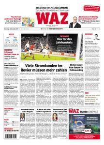 WAZ Westdeutsche Allgemeine Zeitung Oberhausen-Sterkrade - 16. November 2017