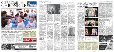 Gibraltar Chronicle – 19 March 2018