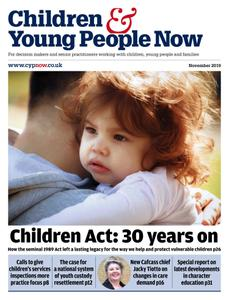 Children & Young People Now - November 2019