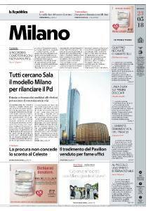 la Repubblica Milano - 23 Maggio 2018