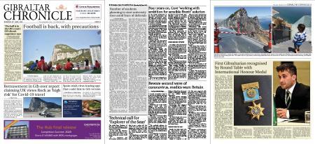 Gibraltar Chronicle – 25 June 2020