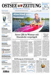 Ostsee Zeitung Wolgast - 31. August 2018