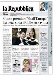 la Repubblica - 24 Maggio 2018