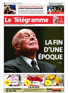 Le Télégramme Brest Abers Iroise – 03 décembre 2020
