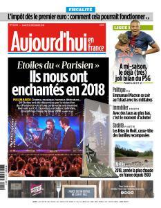 Aujourd'hui en France du Samedi 22 Décembre 2018