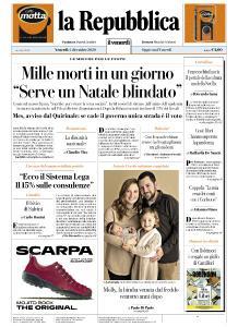 la Repubblica - 4 Dicembre 2020