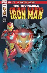 Invincible Iron Man 595 2018 Digital