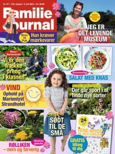 Familie Journal – 05. juli 2021