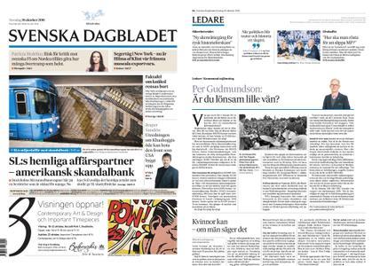 Svenska Dagbladet – 18 oktober 2018
