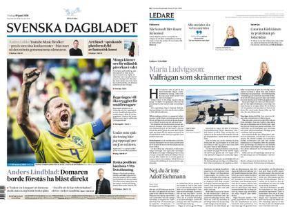 Svenska Dagbladet – 19 juni 2018