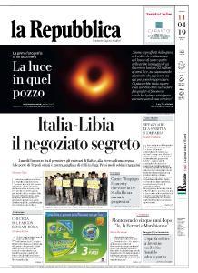 la Repubblica - 11 Aprile 2019
