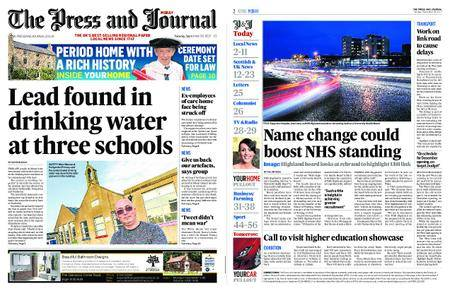 The Press and Journal Moray – September 26, 2017