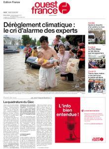 Ouest-France Édition France – 10 août 2021