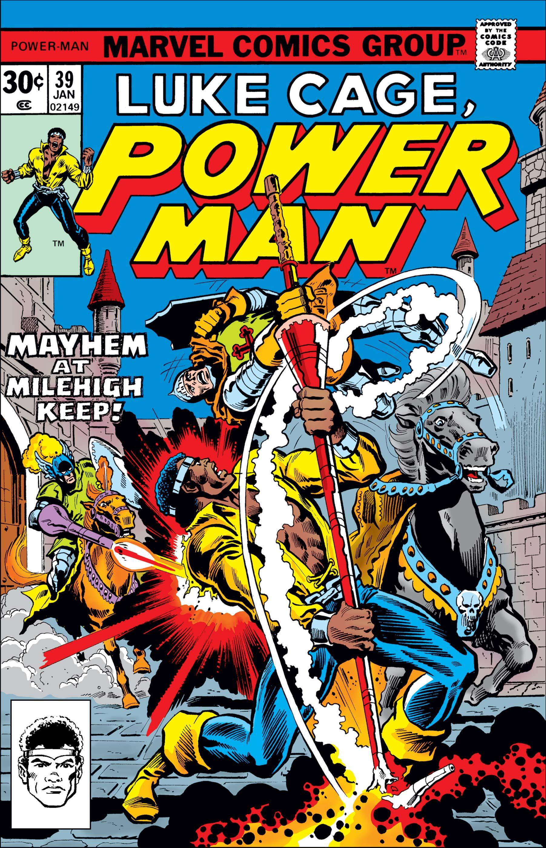Luke Cage, Power Man 039 (1976) (Digital