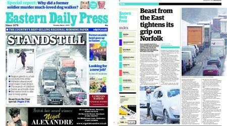 Eastern Daily Press – March 01, 2018