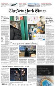 International New York Times - 11 February 2020
