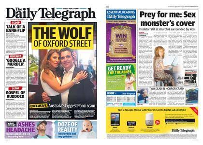 The Daily Telegraph (Sydney) – November 22, 2017