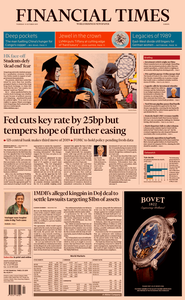 Financial Times Europe – 31 October 2019