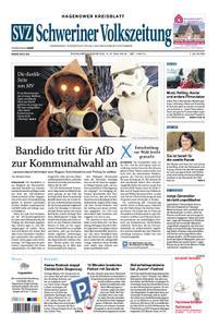 Schweriner Volkszeitung Hagenower Kreisblatt - 04. Mai 2019