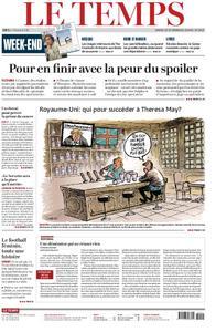 Le Temps - 25 mai 2019