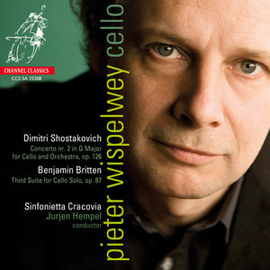 Pieter Wispelwey, Sinfonietta Cracovia - Shostakovich: Cello Concerto No.2; Britten: Cello Suite No.3 (2009) [24-bit/192 kHz]